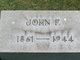 John F Glasser