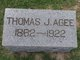 Thomas J Agee
