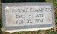 M. Fannie Cummings