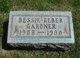 Profile photo:  Bessie Marie <I>Reber</I> Gardner