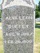 Profile photo:  Alva L Duffey
