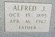 Profile photo:  Alfred John Dill