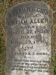 Profile photo:  William Allen