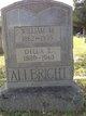 Della Elizabeth <I>Thompson</I> Allbright