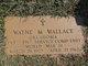 Wayne Melvin Wallace