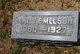 Mary Emma <I>Burton</I> Melson