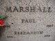 Elizabeth 'Erzsi' <I>Pipis</I> Marshall