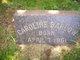Profile photo:  Caroline Barlow