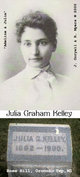 Profile photo:  Julia <I>Graham</I> Kelley