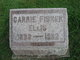 "Caroline Anna Marie ""Carrie"" <I>Fisher</I> Ellis"