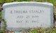 Edgar Thelma Stanley
