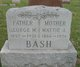 "Profile photo:  George Mason ""Chas"" Bash"