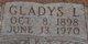 Gladys L. <I>Anthony</I> Fritts