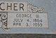Profile photo:  George Washington Bratcher