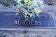Martha <I>Sherard</I> Burgess