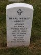 Profile photo:  Dearl Wesley Abbott