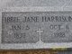 Ibbie Jane <I>Coyne</I> Harrison