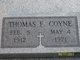 "Thomas Franklin ""Pood"" Coyne"