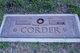 Miriam <I>Ivey</I> Corder