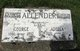 Profile photo:  Adella H. <I>Phillips</I> Allender