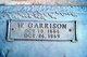 W Garrison Cox