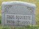 Profile photo:  Thomas James Bequette