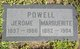 Marguerite Josephine <I>Bartels</I> Powell