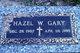 Hazel Alice <I>Weigle</I> Gary