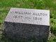Profile photo:  J. William Allton