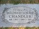 Profile photo:  Mildred Louise <I>Coughman</I> Chandler
