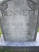 "Caldonia M. ""Callie"" <I>Vest</I> Bennett"