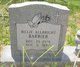 Billie Allbright Barrier
