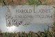 Harold L Jones