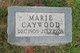 Profile photo:  Marie <I>Schlund</I> Caywood