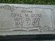Opal M Doss