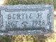 """Profile photo:  Albert Herman """"Bertie"""" Durey"""