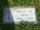 Profile photo:  Helen <I>See</I> Beal