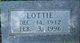 Profile photo:  Lottie Lee <I>Hull</I> Adkins