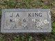 "James Anthony ""Jim"" King"