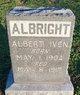 Profile photo:  Albert Iven Albright