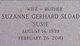 Suzanne E <I>Gerhard</I> Sload