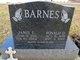 Janis Lenora <I>Smith</I> Barnes