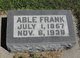 Profile photo:  Able Frank Killion