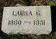 Profile photo:  Laura G Burtis