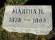 Profile photo:  Martha H Burtis