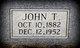 John Thomas West