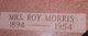 "Profile photo: Mrs Roy ""Goldie"" Morris"