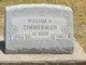 William H Zimmerman