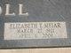 Elizabeth Theresa <I>Meiar</I> Knoll