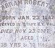 Abram Roberts